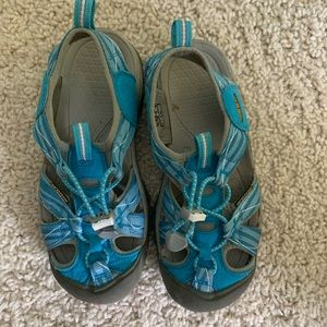 KEEN Turquoise Newport H2 Sandals 6